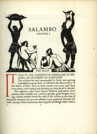 Salambo by  Gustave Flaubert - First edition thus - 1931 - from The Typographeum Bookshop and Biblio.com