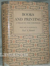 image of BOOKS AND PRINTING, A TREASURY FOR TYPOPHILES