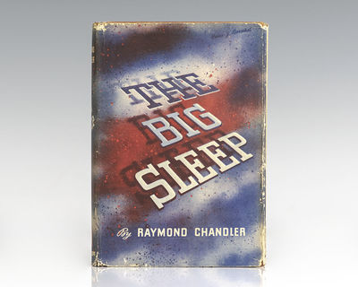 New York: Alfred A. Knopf, 1939. First edition of Chandler's first and most famous novel, with the r...