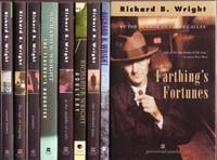 Richard B. Wright grouping:  - The Age of Longing; - Sunset Manor; - Tourists; - The Teacher's Daughter; - Final Things; - Farthing's Fortunes; - In the Middle of a Life; - The Weekend Man; - Adultery;  nine softcovers All SIGNED by  Richard B. Wright