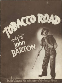 image of Tobacco Road (Original 1938 program for the 1933 play)