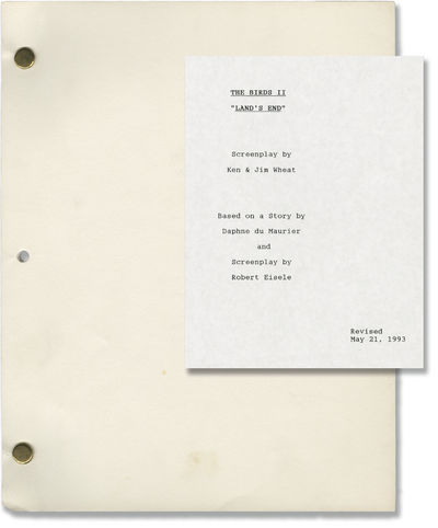 Hollywood: MCA TV, 1993. Revised Draft script for the 1994 television film. Sequel to the 1963 film ...