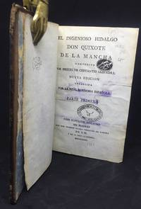 El Ingenioso Hidalgo Don Quijote de la Mancha by  Miguel de CERVANTES SAAVEDRA - Segunda de la Real Academia. - 1782 - from Grupo Editorial Rosa Maria Porrúa (SKU: RMP249)