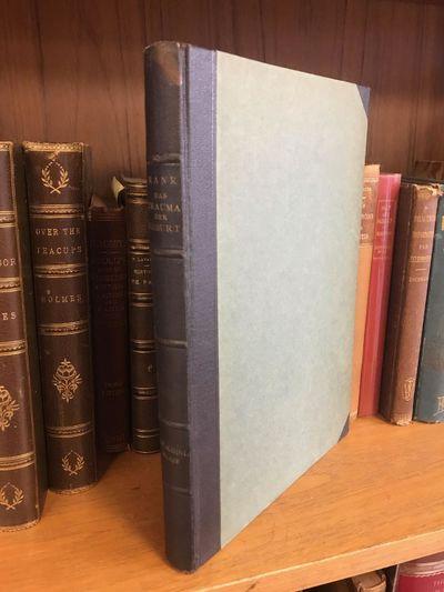 Leipzig, Germany: Internationaler Psychoanalytischer Verlag, 1924. First Edition. Octavo, 207 pages;...