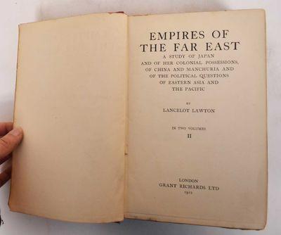 London, England: Grant Richards Ltd, 1912. Hardcover. Good-. (edge-wear, scratches, scuffs & dampsta...