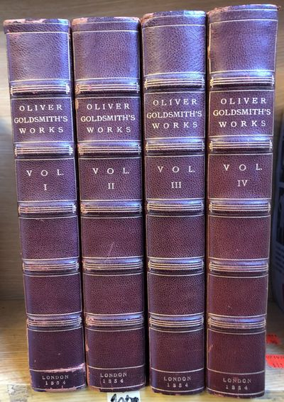 London: John Murray, 1854. First Thus. Hardcover. Octavo, 4 vols.; three-quarter maroon calf binding...
