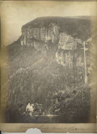 """image of """"Mount Victoria"""" [with] """"Govets Leap"""".  Albumen photographs"""