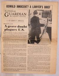 image of Oswald innocent?; a lawyer's brief; a Guardian special [special issue of the National Guardian, the progressive newsweekly]