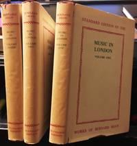 MUSIC IN LONDON in 3 volumes