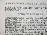 A Masque of Love