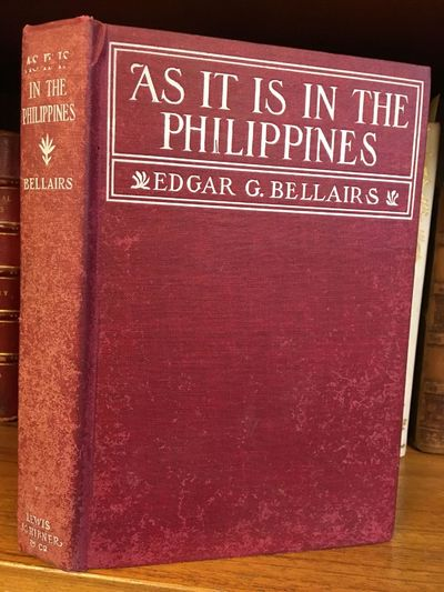 New York: Lewis, Scribner & Co, 1902. First Edition. Hardcover. Octavo, 263 pages; VG-; bound in red...