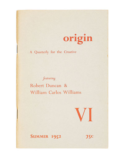 1952. First Edition. Paperback. Near fine in original saddle-stitched wrappers printed in red.. Thin...