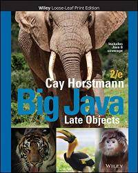 image of Big Java: Late Objects
