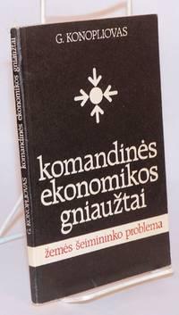 image of Komandines ekonomikos gniauztai. Zemes šeimininko problema