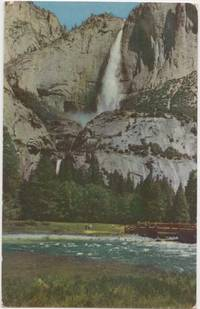 Yosemite National Park, California, 1953 used Postcard
