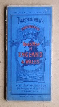 image of Bartholomew's Contoured Road Map of of England & Wales.