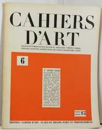 Cahiers D'Art No. 6, 5 Anne 1930