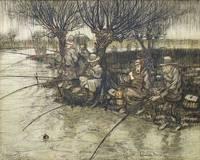 Anglers in the Rain