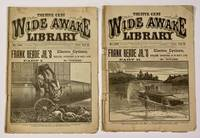 FRANK READ JR.'S ELECTRIC CYCLONE; or, Thrilling Adventures in No Man's Land.  Part I.  Part II.; The Wide Awake Library.  No. 1136 / 1137.  August 27, 1892 / September 3, 1892