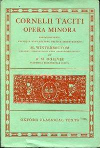 Opera minora.