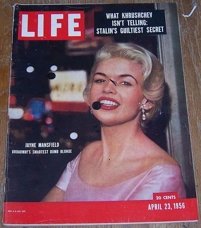 LIFE MAGAZINE APRIL 23, 1956, Life Magazine