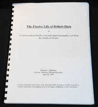 image of The Elusive Life of Robert Hare, or A Contextualized Profile of an Individual Lamentably Lost from the Annals of History