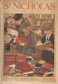 image of St. Nicholas for Boys and Girls; November 1919; Children's Book Week-Nov. 10-15
