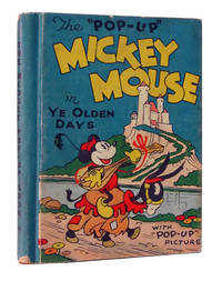 "Mickey Mouse in ""Ye Olden Days"" with ""Pop-Up Picture. (The Midget Pop-Up Book)"