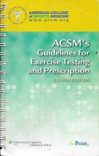 image of Acsm's Guidelines for Exercise Testing and Prescription