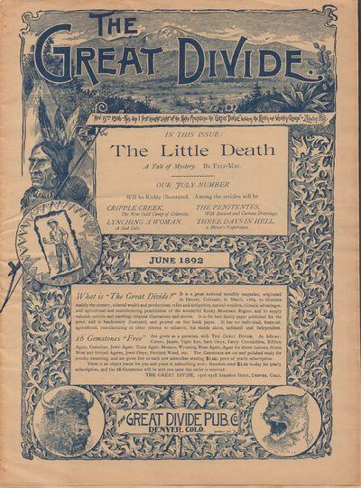 Denver, Colorado: Great Divide Publishing Co.. Good. 1892. Magazine. Magazine with many illustration...