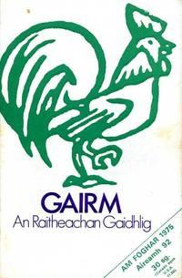 Gairm : An Raitheachan Gaidhlig : Autumn 1975 - No 92