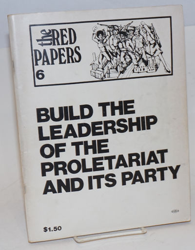Chicago: Revolutionary Union, 1974. Paperback. 136p., wraps, paper evenly toned, 8.5 x 11 inches, li...