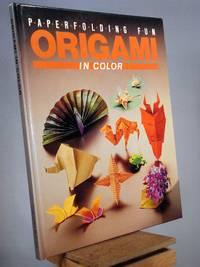 Origami in Color: Paper Folding Fun/Prepack Book and Paper