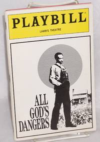 image of Playbill for All God's dangers: starring Cleavon Little at the Lamb Theatre; November, 1989, vol. 89 no. 11