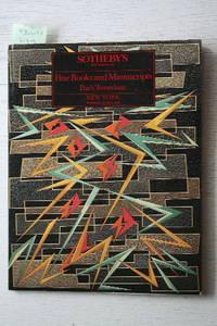 Sala 7 June 1988 : Fine Books and Manuscripts. Poe's Tamerlane.