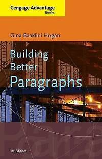 Building Better Paragraphs