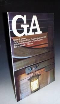 GA 66 (Global Architecture) Greene & Greene, David B. Gable House, Pasadena