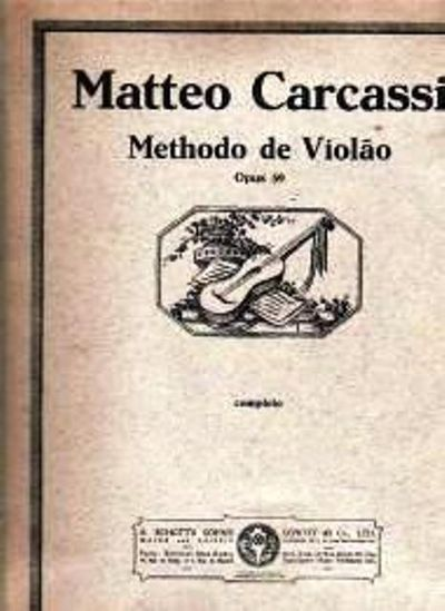 Methodo de Violao [Viola Method] by Carcassi Matteo - from Music by the Score and Biblio.co.uk