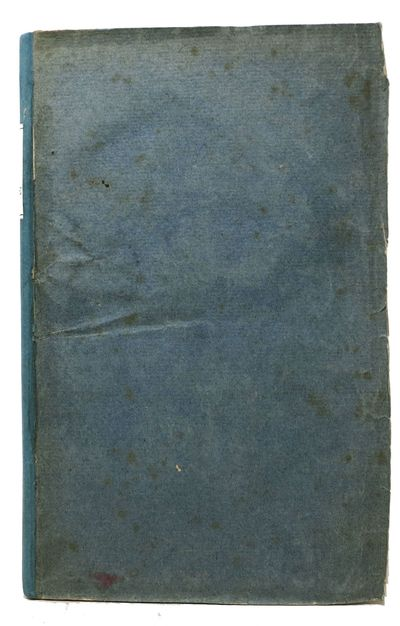 London: Printed for J. Hatchard and J. Butterworth, 1807. 5th edition (Howes S-937; Sabin 91246). Pe...