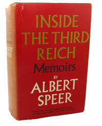 image of INSIDE THE THIRD REICH :  Memoirs
