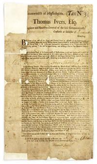 Commonwealth of Massachusetts, (Tax No 3), Thomas Ivers, Esq...