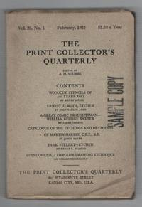 The Print Collector's Quarterly: Volume 25, Number 1. February 1938
