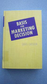 Basis for Marketing Decision