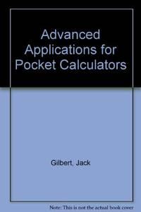 Advanced Applications for Pocket Calculators