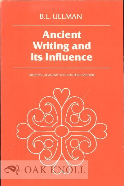 Toronto: University of Toronto Press in Association with the Medieval Academy of America, 1980. stif...