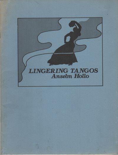 Baltimore, MD: Tropos Press, (1977). First Edition. Wraps. Very good. 4to. Saddle-stapled wraps. Ver...