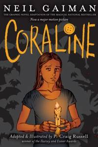 image of Coraline Graphic Novel