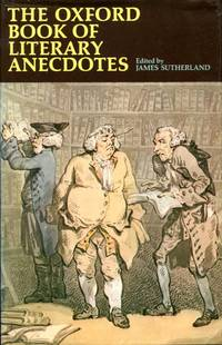 image of The Oxford Book of Literary Anecdotes