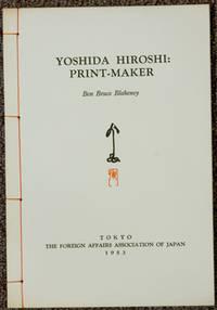 Yoshida Hiroshi: Print-Maker