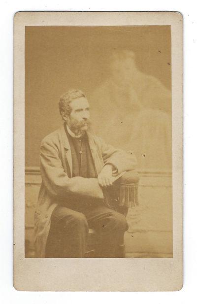 1875 Spirit Photograph by Buguet with...
